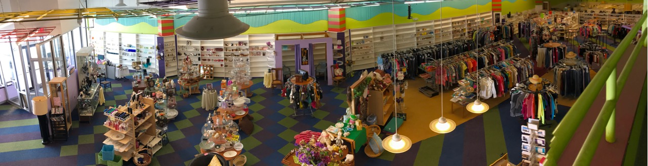 Lily's consignment shoppe inside view, high quality jewelry, knicknacks, clothing for the whole family, small furnature. Canandaigua NY